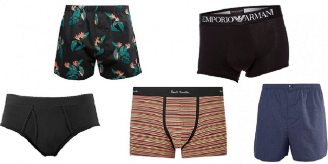 men's underwear boxers, boxer briefs, briefs