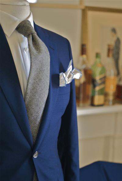 Arched Tie with Sprezzatura