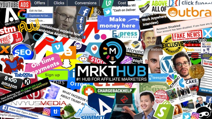 Mrkthub - The best CPA affiliate site in the known universe