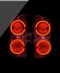 2007-'08 Dodge Ram ORACLE Tail Light Halo Kit