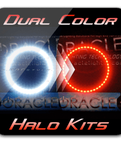 DUAL COLOR (RedWhite) Dodge Challenger Halo Kit