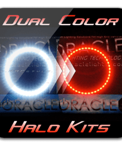 DUAL COLOR (RedWhite) Dodge Challenger Halo Kit