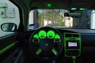 Green Cluster Light