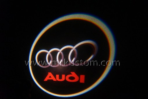 Audi LED Courtesy Logo Projector Lights
