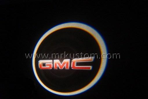 GMC LED Courtesy Logo Projector Lights