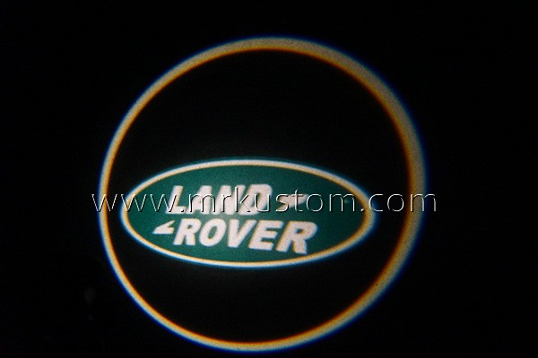 Land Rover LED Door Projector Courtesy Puddle Logo Lights