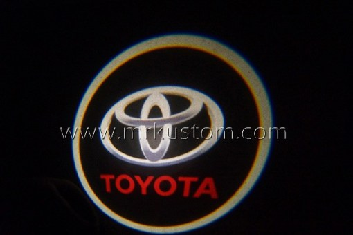 Toyota LED Courtesy Logo Projector Lights