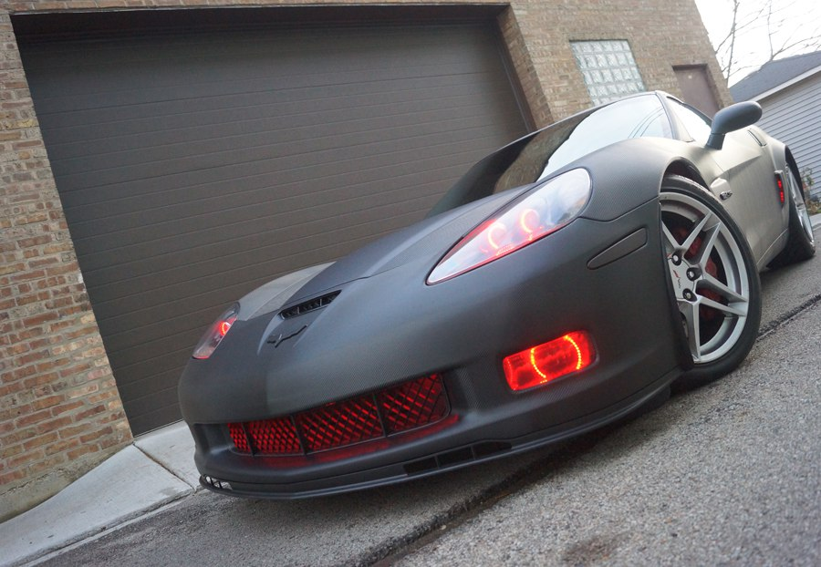 2007 Corvette ZO6 Carbon Fiber Wrap