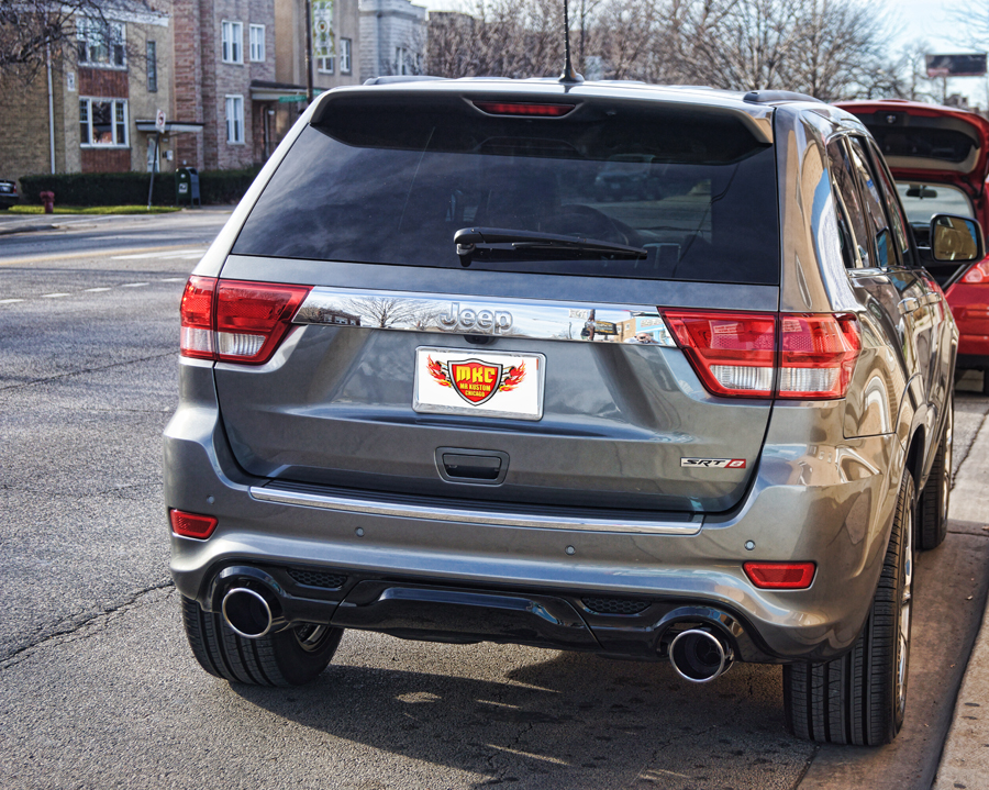 2012 Jeep Grand Cherokee SRT8 Borla Atak Exhaust