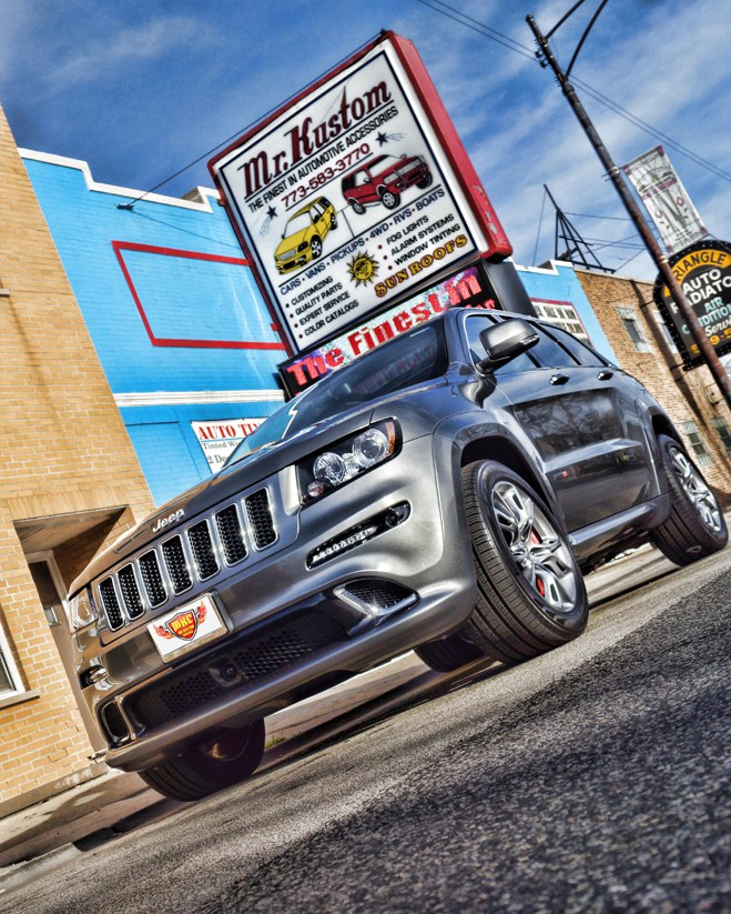 2012 Jeep Grand Cherokee SRT8 Borla Atak Exhaust System