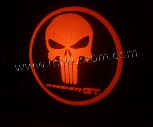 Punisher GT LEDCourtesy Logo Projector Lights