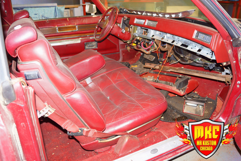 1975 Cadillac Deville DJ Booth Interior