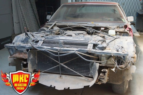 1975 Cadillac Deville DJ Booth Project 2