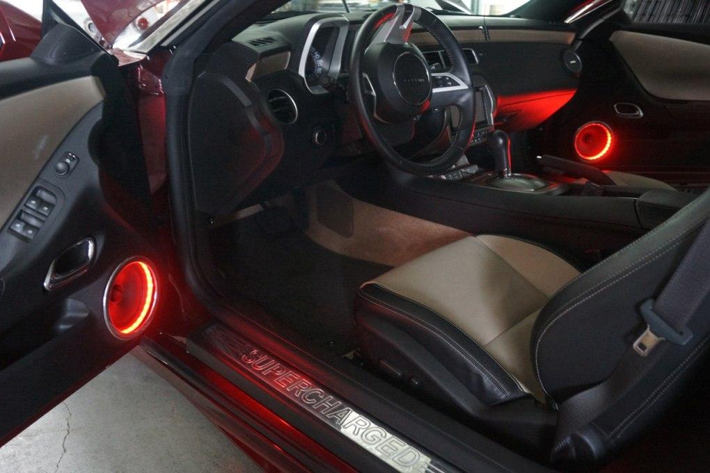 Camaro SS Front Custom Speakers