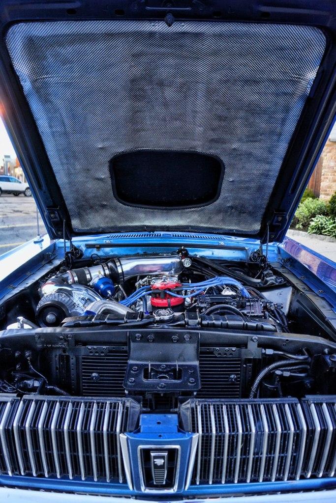 1967 Custom Paxton Supercharger Mercury Cougar