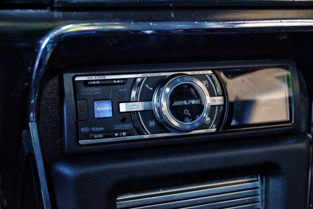 Alpine Pandora Radio Custom Mercury Cougar