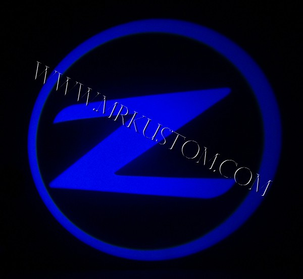 Nissan Z LED Door Projector Courtesy Puddle Logo Lights