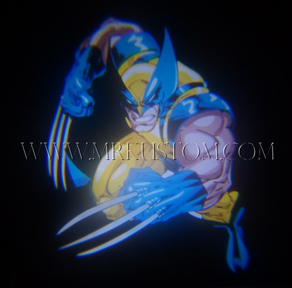 Wolverine LED Door Projector Courtesy Puddle Logo Lights