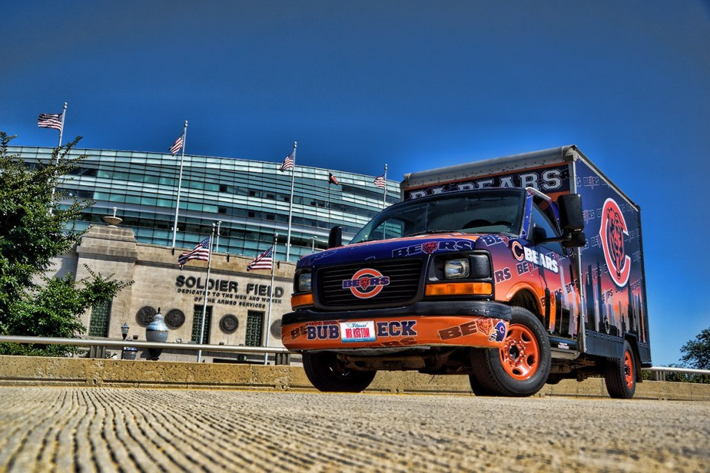 Chicago Bears Fan Truck