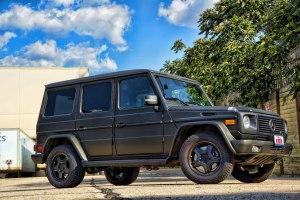 Mercedes G55 Wagon Matte Black Wrap