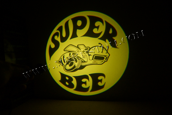 Super Bee LED Door Projector Courtesy Puddle Logo Light