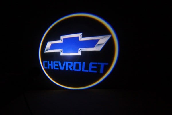 Chevy Blue LED Door Projector Courtesy Puddle Logo Light