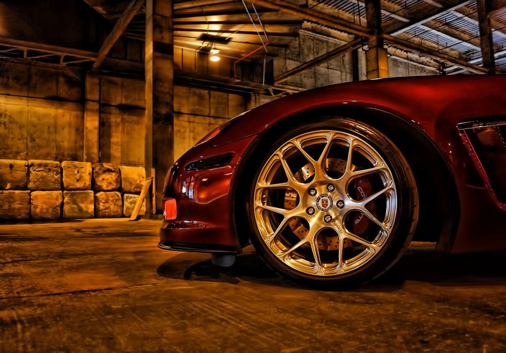 HRE Rims Custom Grand Sport Corvette