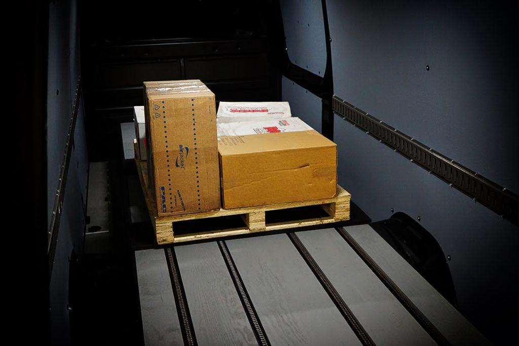 Pallet Loading System Cargo Van Sprinter Transit
