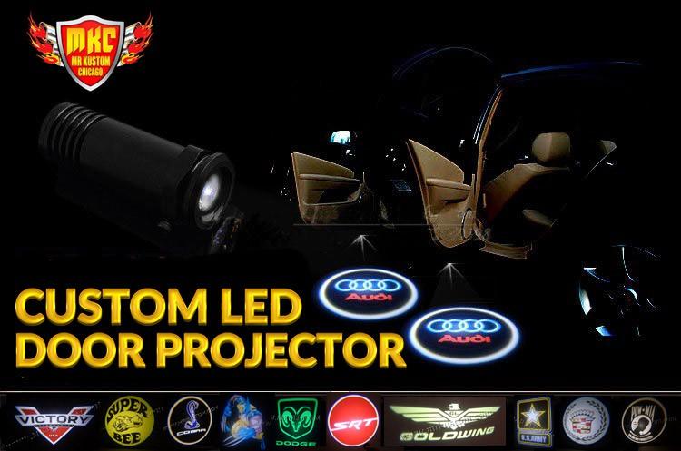 Custom LED Door Projector Lights
