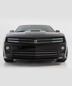 Hawkeye Lower bumper grille for 2010-2013 Chevrolet Camaro fits V6 models (Matte black finish)