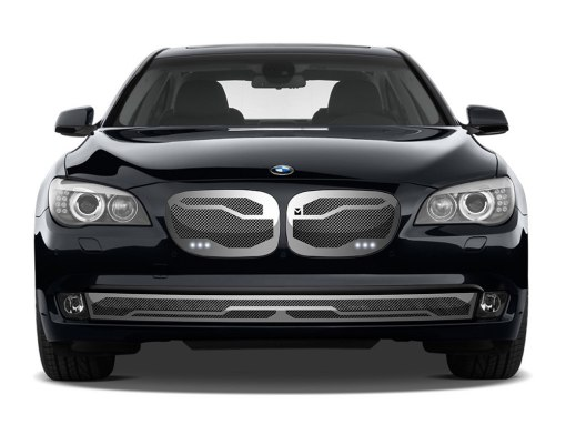 Macaro Primary Grille for 2006-2009 Bmw 750/760 fits 750/760 models (Triple Chrome finish)
