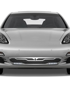 Macaro Primary Grille for 2010-2013 Porsche Panamera fits All models (Polished finish)