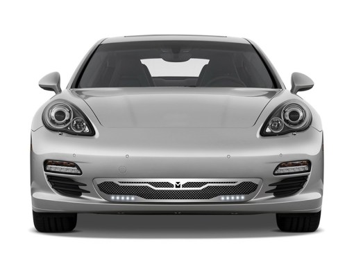 Macaro Primary Grille for 2010-2013 Porsche Panamera fits All models (Triple Chrome finish)