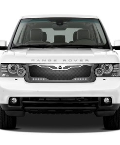 Macaro Primary Grille for 2003-2005 Range Rover All fits All Except Sport models (Matte black finish)