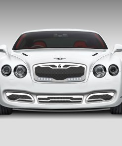 Macaro Lower bumper grille for 2004-2009 Bentley GT/GTC fits All models (Matte black finish)