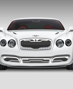 Macaro Lower bumper grille for 2004-2009 Bentley GT/GTC fits All models (Matte black finish)
