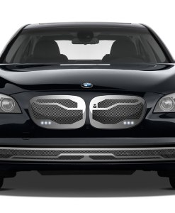 Macaro Lower bumper grille for 2002-2006 Bmw 745 fits All models (Triple Chrome finish)