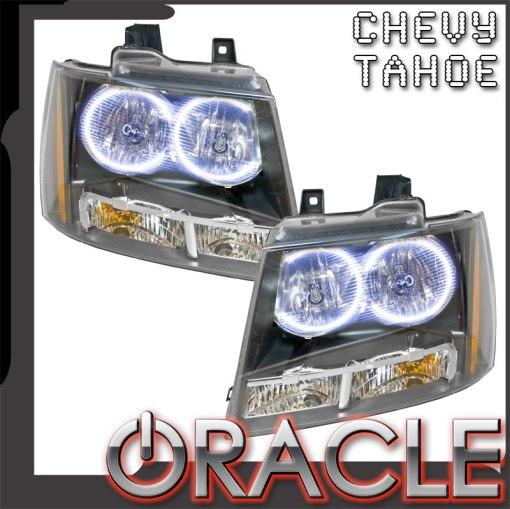 Chevy Tahoe Halo Headlights