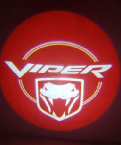 Dodge Viper Red Door Projector Light