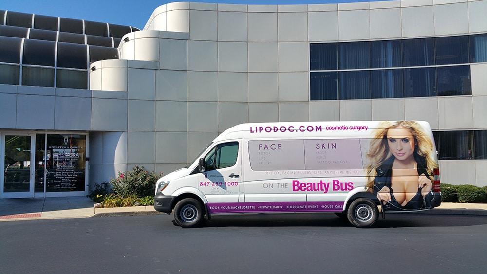 The Beauty Bus - Mobile Botox Van