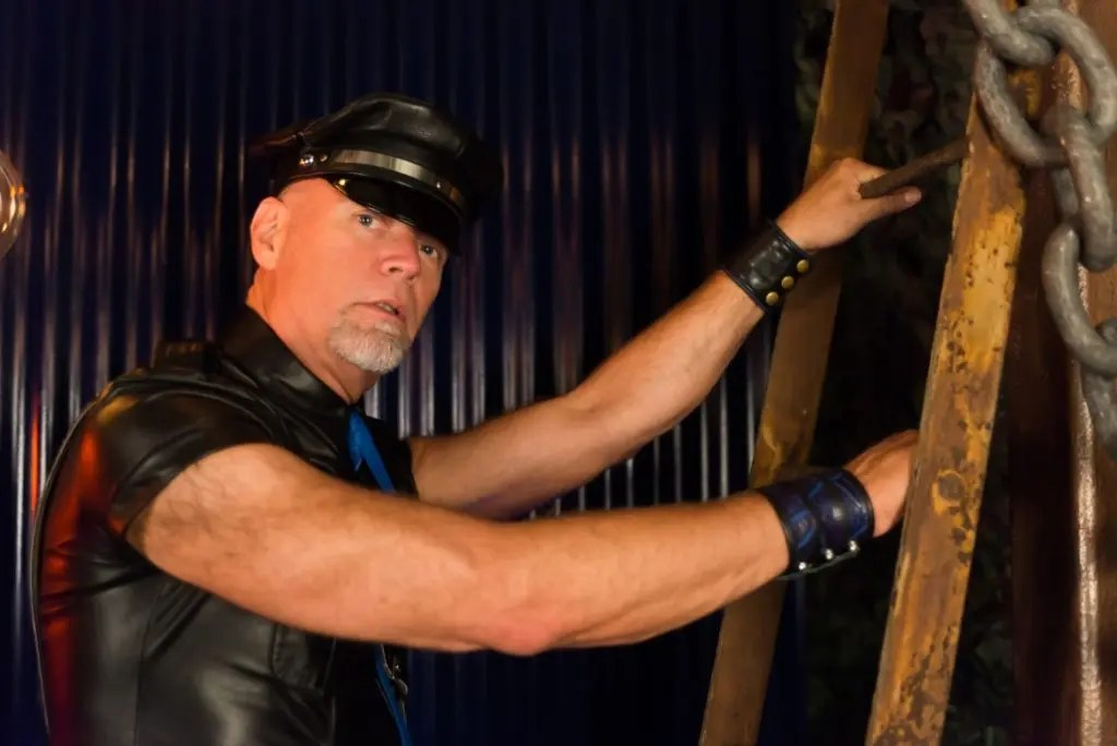 2015 MR.LEATHER64TEN Contest Winner Michael Pacas