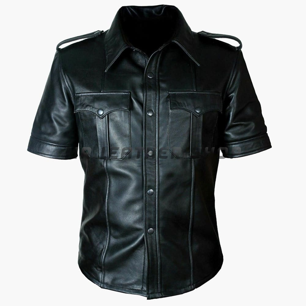 Cheap Leather Shirt