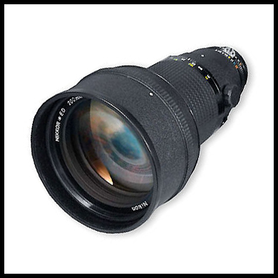 Nikkor 200mm f2 AI-s lens photo