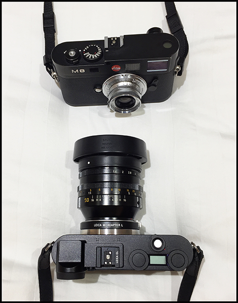 Leica CL vs Leica M8 Review