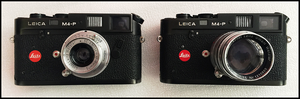 Leica M4 P Review - Leica M4-P camera with Leica Summarorn 35mm f3.5 lens