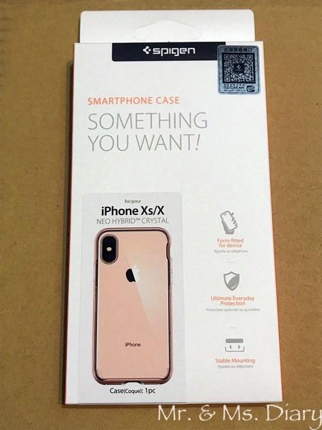 IMG_7161 防摔手機殼推薦!Spigen iPhone X/Xs/XsMax/XR Neo Hybrid Crystal