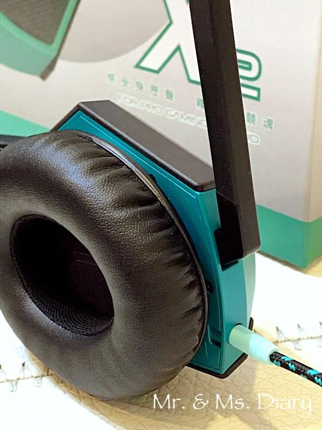 電競、直播、聽歌耳機推薦!SpearX X2跨界電競耳機 8
