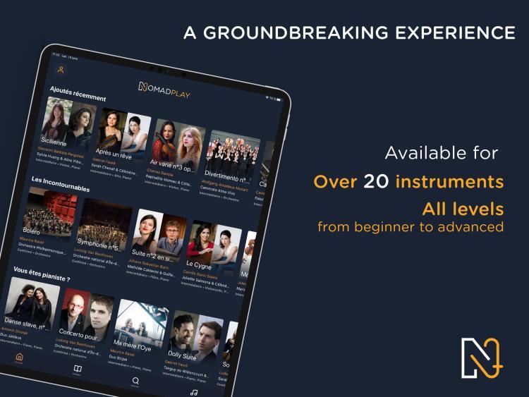 NomadPlay 與全球頂尖古典音樂家一同排練,無時無刻甚麼樂器合奏都有趣 2