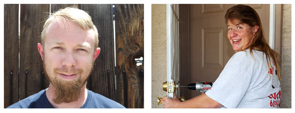 Our Locksmiths Dave and Stormy