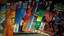 various Star Wars books